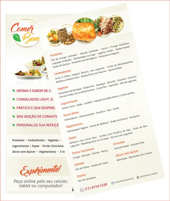 Cardápio - Comer Bem