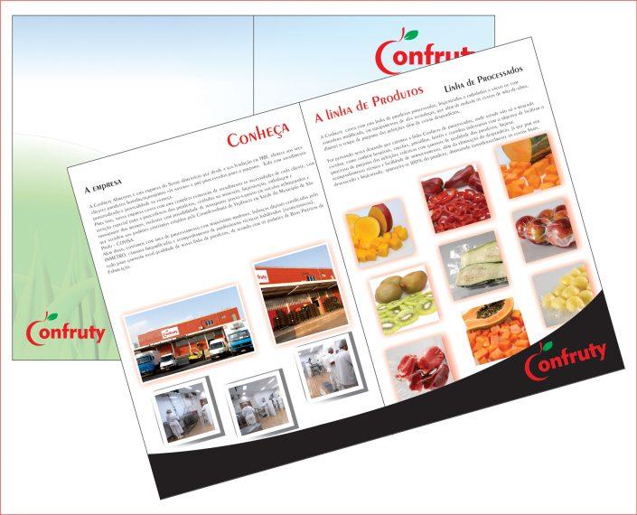Catálogo de Produtos Frente e Verso
