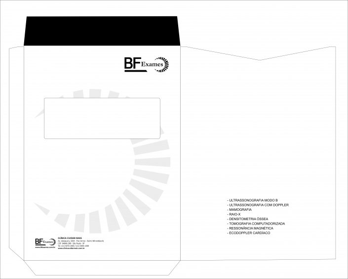 Envelope com janela formato especial 27X37 cm
