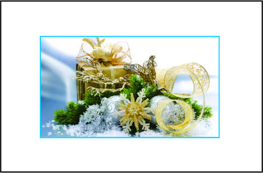 Cartão de Natal - Modelo 08