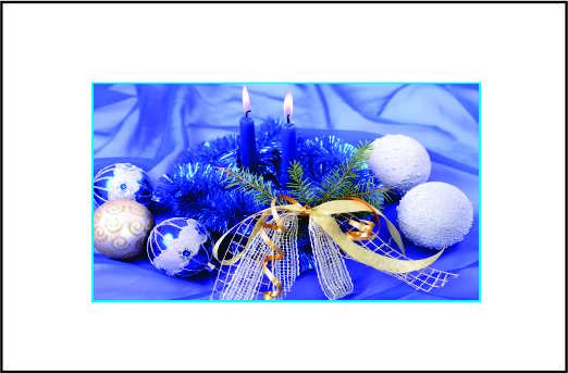 Cartão de Natal - Modelo 09