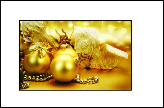 Cartão de Natal - Modelo 11