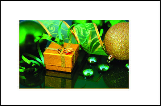 Cartão de Natal - Modelo 12
