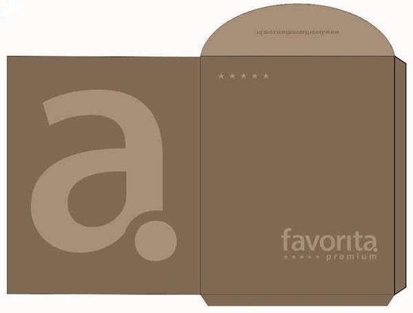 Envelope 24X36 Impressão 4 Cores Faca Especial da Favorita