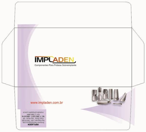 Envelope Ofício Impressão 4 Cores Faca Especial da Impladen