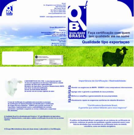 Folder da Qualidade Brasil