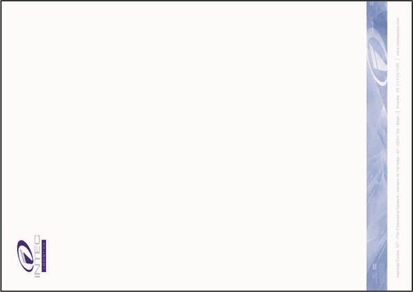 Papel de Carta Impressão em 3 Cores da Neve da Intec
