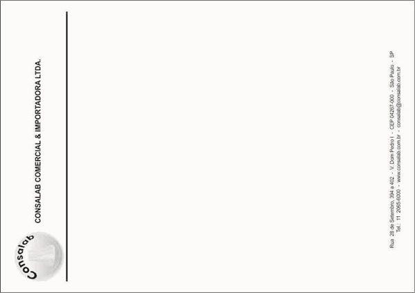 Papel Carta Impressão em 1 Cor da Consalab